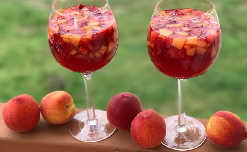 Have A Drink: Peachy Rosé Sangria