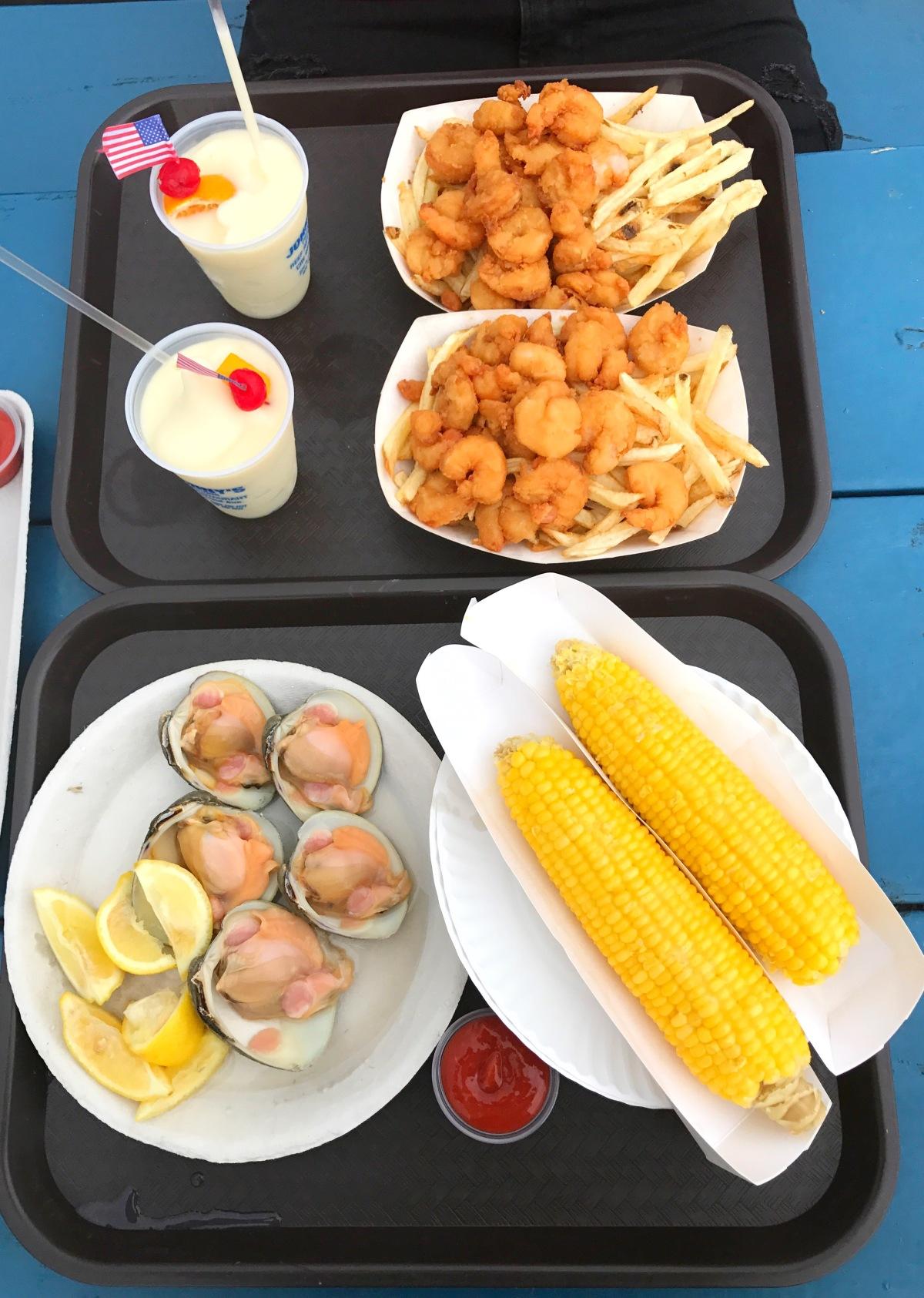 Johnnys reef food options